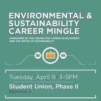 Environmental and Sustainability Career Mingle