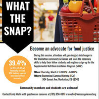 SNAP Outreach Training: What the SNAP?