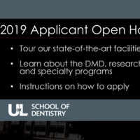 School of Dentistry Applicant Open House (Registration Full)