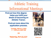 Athletic Training Information Meeting