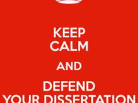 Final PhD Defense for Katrina Ward