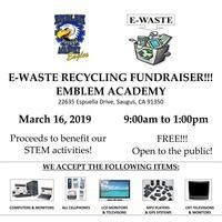 e-Waste Recycling Fundraiser