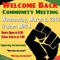Black Student Union Community Meeting