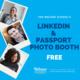 LinkedIn & Passport Photo Booth
