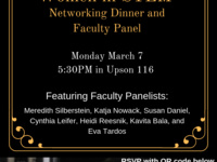 Panel and Networking Dinner: Women in STEM