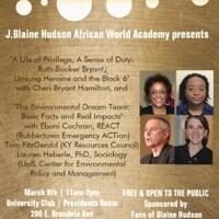 J. Blaine Hudson African World Academy Presents