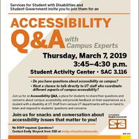 Accessibility Q&A