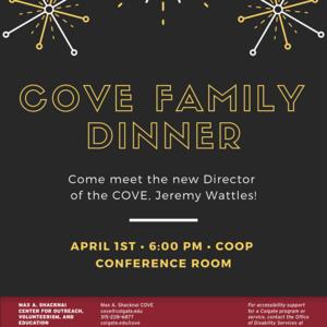 COVE Family Dinner