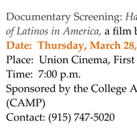 """Documentary Screening: """"Harvest of Empire: The Untold Story of Latinos in America,"""" a film by Onyx Films"""