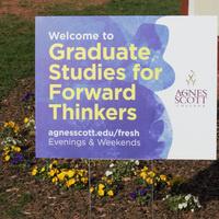 Grad Programs Sign
