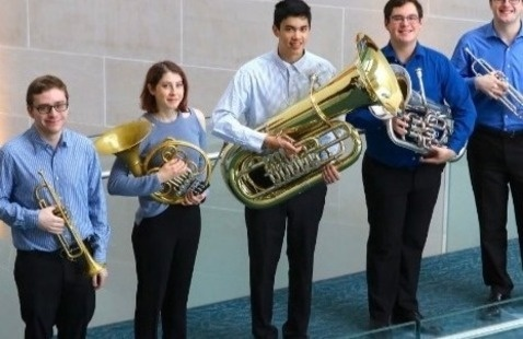 Eastman Performing Arts Medicine: Live at the Cafe! with the Dynamic Brass Quintet