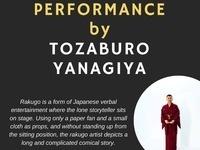 A Rakugo Performance by Tozaburo Yanagiya