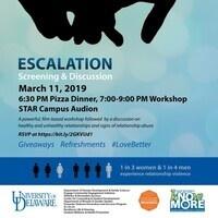 Escalation Workshop-Promoting Healthy Relationships