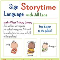 Sign Language Storytime