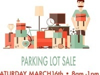 Flea Market-Parking Lot Sale @ Antique Galleries of Palm Springs SAT MARCH 16th