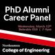 COE PhD Alumni Career Panel