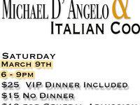 Michael D'Angelo & Italian Cook off