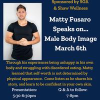 Matty Fusaro: Male Body Image