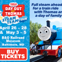 DAY OUT WITH THOMAS at the B&O Railroad Museum