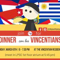 Dinner con los Vincentians