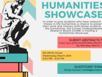 Undergraduate Humanities Showcase