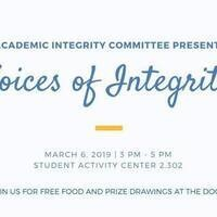 Voices of Integrity - Senate of College Council's Academic Integrity Committee