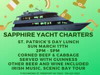 St Patrick's Day Cruise