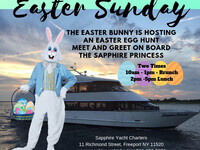 Easter Bunny & Egg Hunt Lunch Cruise