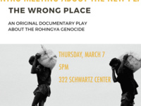 The Wrong Place: An Original Documentary Play - Intro Meeting