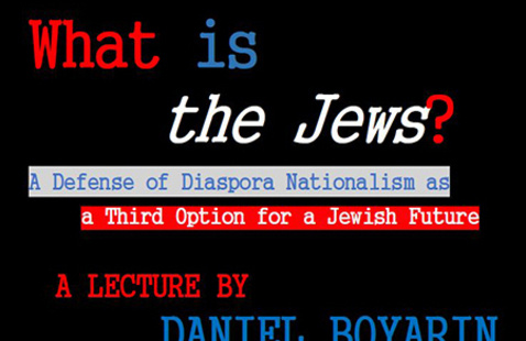 """What is """"the Jews""""?"""