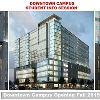 Downtown Campus Student Info Session