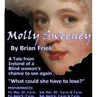 """3 Penny Theatre presents """"Molly Sweeney"""" by Brian Friel"""