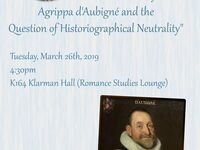 "Andrea Frisch, ""The Inhumanity of Universal History: Agrippa d'Aubigné and the Question of Historiographical Neutrality"""