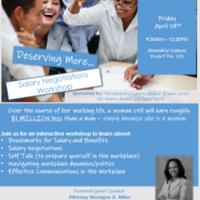 Salary Negotiations Workshop