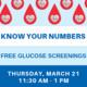 Free Blood Glucose Screenings
