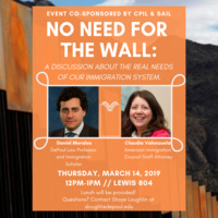 No Need for a Wall: a discussion about the real needs of our immigration system.