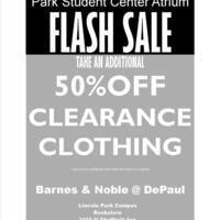 Lincoln Park Barnes & Noble Flash Sale