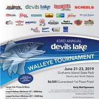 43rd Annual Devils Lake Chamber Fishing Tournament