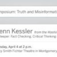 Critical Thinking Symposium Presents: Glenn Kessler