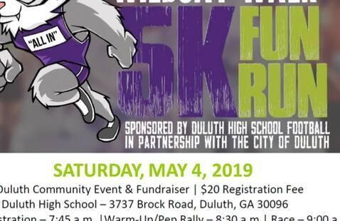 Wildcat 5K Walk & Fun Run