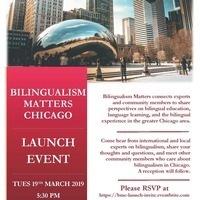 Bilingualism Matters Launch Event