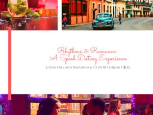 Rhythms & Romance: A Speed Dating Experience