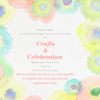 Crafts and Celebration