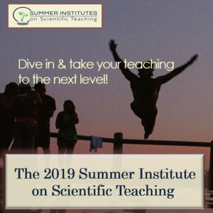 2019 Summer Institute for Scientific Teaching