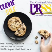 PRSSA Bake Sale Fundraiser
