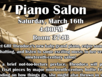 Inaugural Keeton Piano Salon!