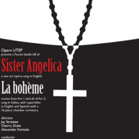 Opera UTEP: Puccini Double Bill of La bohème & Sister Angelica