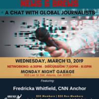 News & Brews: Global Journalists @ Monday Night Garage