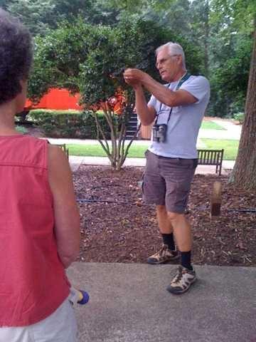 First Friday Walks with Dr. David Bradshaw (Spring-Summer '19)