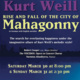 Rise and Fall of the City of Mahagonny